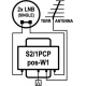 EMP DiSEqC switch S2/1PCP