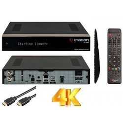 OCTAGON SF4008 Triple 4K E2 UHD 2160p