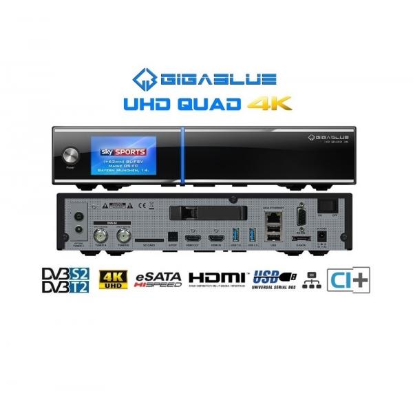 gigablue uhd quad 4k  Gigablue Quad 4K UHD Combo