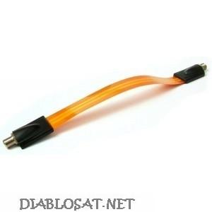 Лентов коаксиален кабел