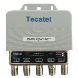 DiSEqC ключ 4/1 Тecatel