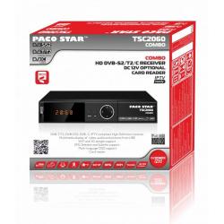 PACO STAR TSC2060 DVB-S2/T2/C HD