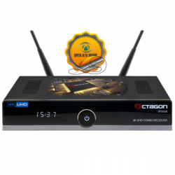 OCTAGON SF8008 4K UHD E2 TWIN DVB-S2X
