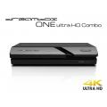 Dreambox One Combo Ultra HD BT 1x DVB-S2X / 1x DVB-C/T2 Tuner 4K